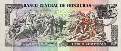 Roatan Honduras Currency 5 Lempira
